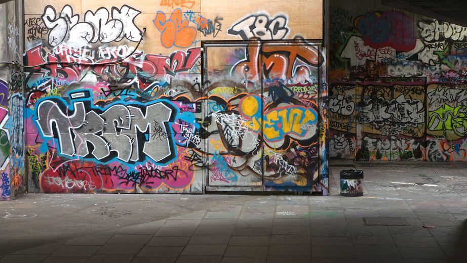 Umývanie graffitov